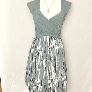 Converse Gray Tie Dyed Tank Dress Women's Small